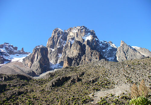 5 Days Mount Kenya Climb Sirimon Route