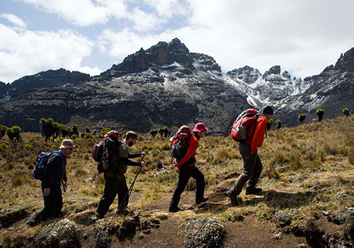 7 Days Mount Kenya Rock Climbing Via Normal Route – Sirimon – Chogoria Traverse