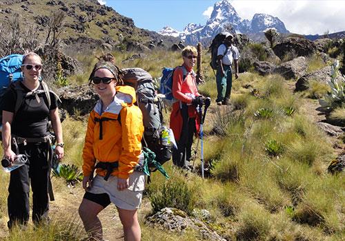 7 Days Mt Kenya Adventure Climbing Routes Kamweti - Timau Route