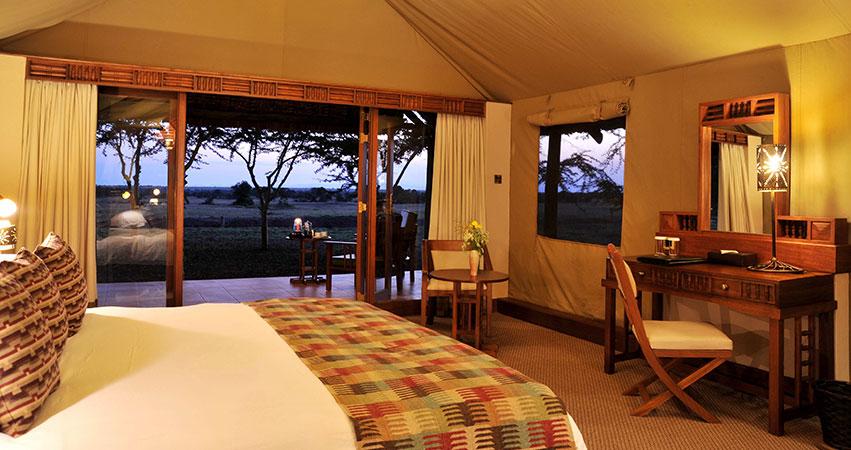 7 Days Sweetwater's / Samburu / Lake Nakuru / Masai Mara Lodge Private Safari