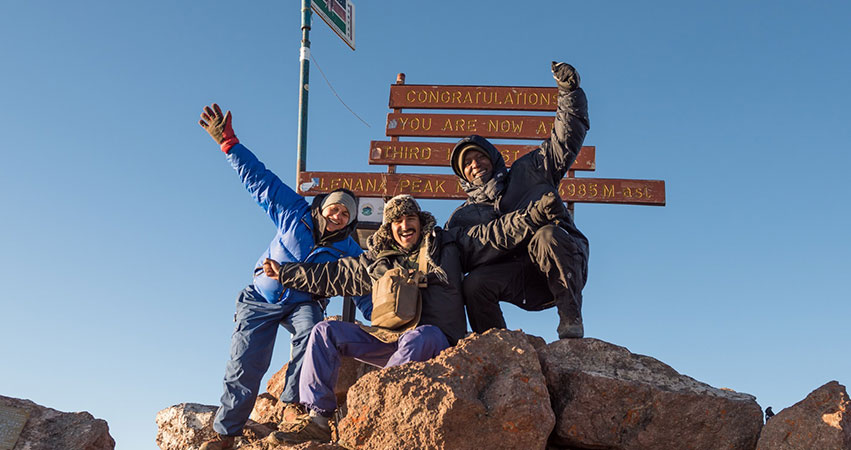 8 Days Mount Kenya Rock Climbing Via The North Face Standard Route