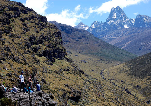5 Days Mt Kenya Climb Sirimon – Chogoria Route Direct